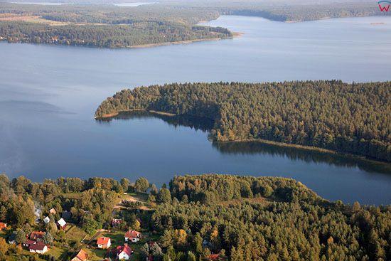 Lotnicze, EU, Pl, Warm-Maz. Jezioro Pluszne Wielkie.