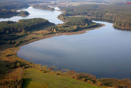 Lotnicze, EU, Pl, Warm-Maz. Jezioro Kiernoz Maly.