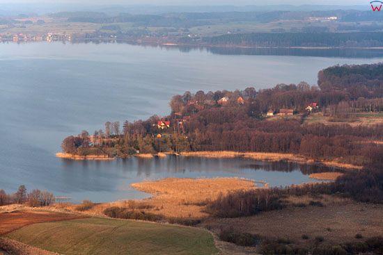 Jezioro Lesmiady. Lotnicze, EU, Pl, warm-maz.