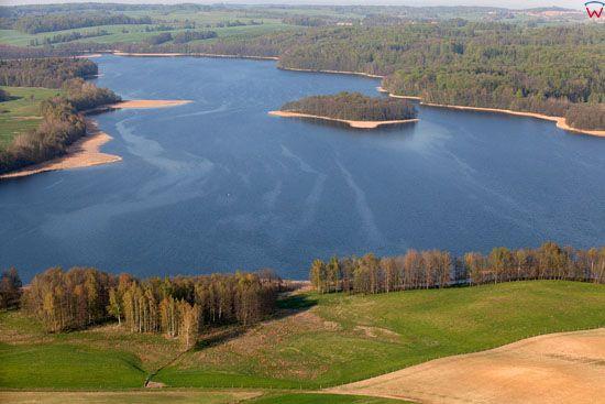 Jezioro Tejstymy. EU, Pl, warm-maz, LOTNICZE.