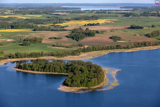 Jezioro Rydzowka. EU, Pl, warm-maz, LOTNICZE.