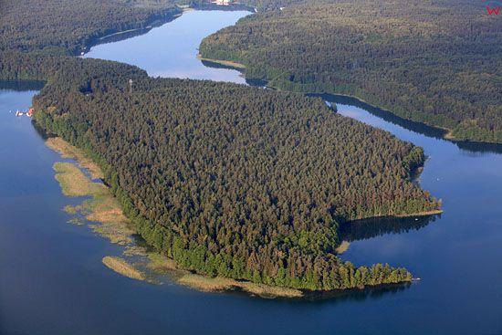 Jezioro Pluszne. EU, Pl, warminsko - maz. Lotnicze.