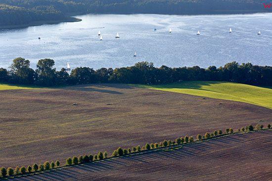 Jezioro Mikolajskie. EU, Pl, warm-maz. Lotnicze.