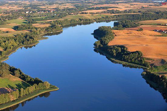 Jezioro Wojnowo. EU, PL, Warm-Maz. LOTNICZE.