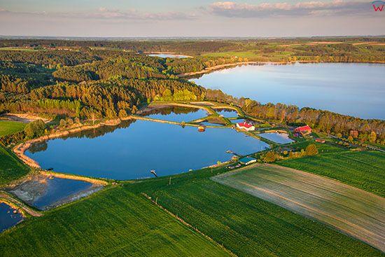 Jezioro Widrynskie. EU, PL, Warm-Maz. Lotnicze.