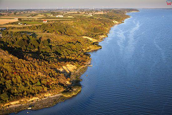 Zarzeczewo, jezioro Wloclawskie. EU. Pl, Kuj-Pom. Lotnicze.