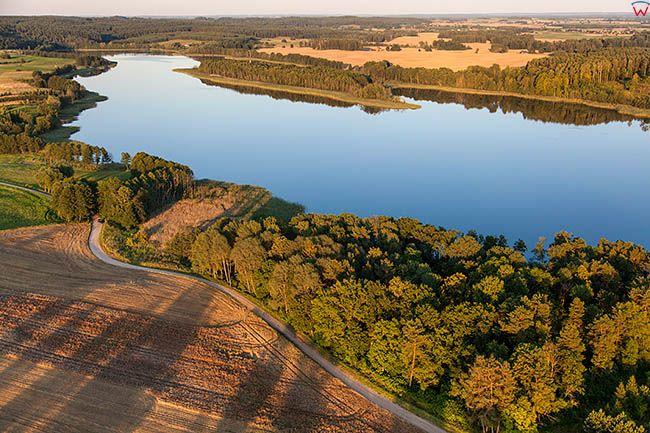 Jezioro Orlo. EU, PL, Warm-Maz. Lotnicze.