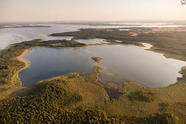 Jezioro Kirsajty. EU, PL, Warm-Maz. Lotnicze.