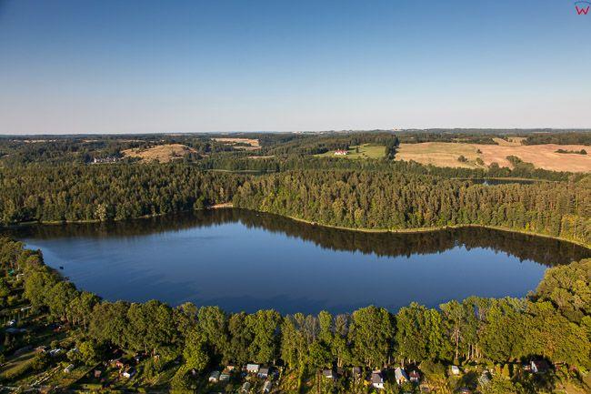 Jezioro Sutapie. EU, PL, Warm-Maz. Lotnicze.