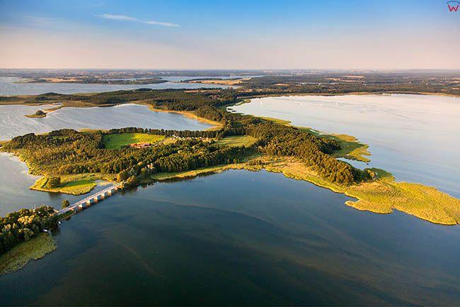 Jezioro Dargin i Kirsajty. EU, PL, Warm-Maz. Lotnicze.