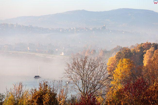 Jezioro Zywieckie, okolica miejscowosci Zarzecze. EU, PL, Slaskie.