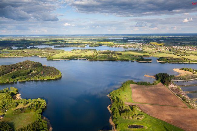 Jezioro Kalwa. EU, Pl, warm-maz. Lotnicze