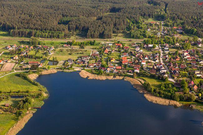 Jezioro Wipsowskie. EU, Pl, warm-maz. Lotnicze