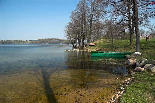 _W060354 jezioro Hańcza, widok od strony wsi Błaskowizna.