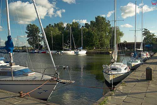Port jachtowy w Kątach Rybackich