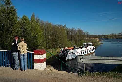 Kanal Ostrodzko-Elblaski, odcinek w Milomlynie.