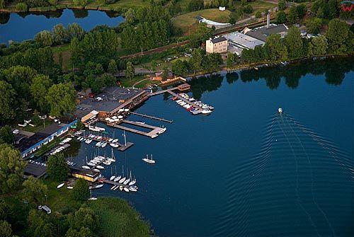 LOTNICZE. Warm maz. Olsztyn - jezioro Ukiel.