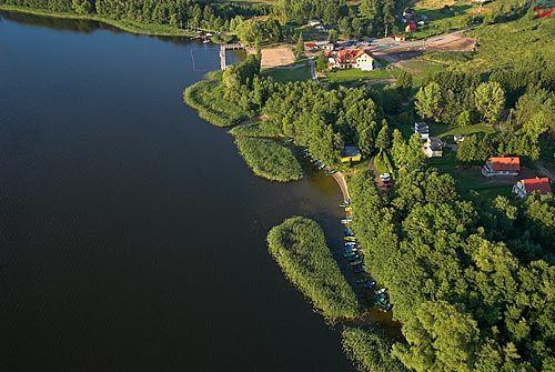 LOTNICZE, warm-maz. Dadaj - miejscowosc i jezioro.