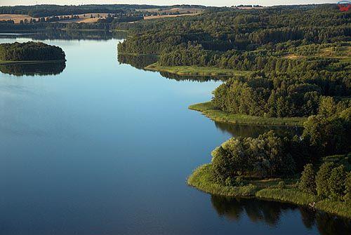 LOTNICZE, warm-maz. Jezioro Biesowko.