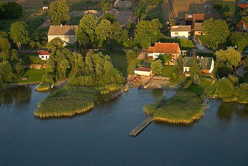 LOTNICZE, warm-maz. Jezioro Luterskie, wies Kikity.
