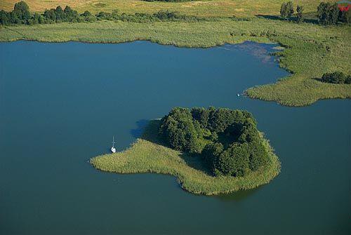 LOTNICZE. Warm-Maz. Jezioro Dejguny.