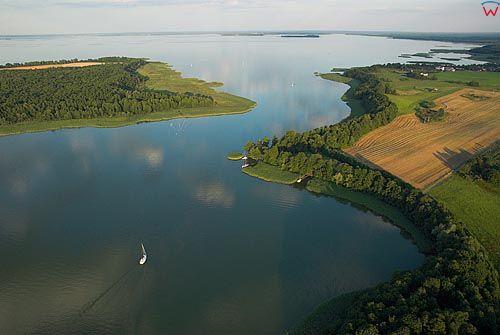 LOTNICZE. Warm-Maz. Jezioro Mikolajskie i Sniardwy. Dybowski Rog.