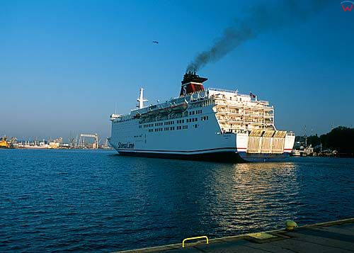 Gdynia, Stena line