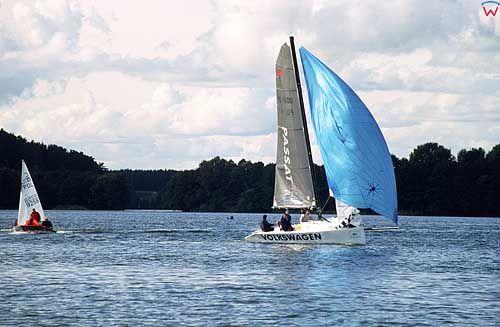 Jezioro Ukiel, Żaglówki