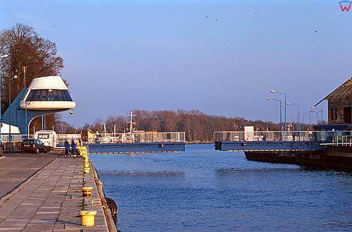 Darłówko, most rozsuwany
