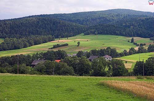 Beskid wyspowy, wieś mszana dolna