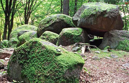 Megalityczny grobowiec w Borkowie pomorskie