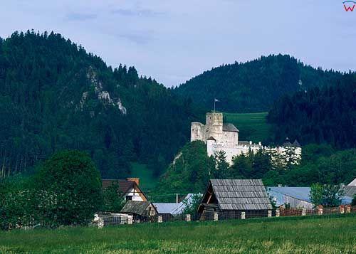 fot. Wojciech Wojcik zamek w niedzicy niedzica d040280