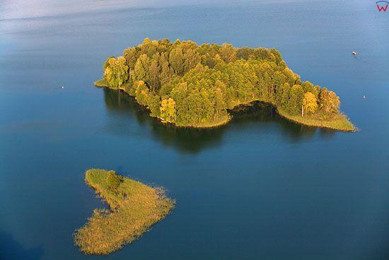 Jezioro Studzienniczne. EU, PL, Podlaskie. Lotnicze.