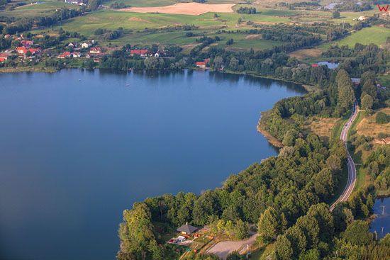 Jezioro Przytulskie, EU, PL, Warm-Maz. LOTNICZE.