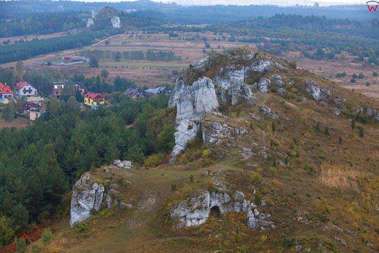Jura Krakowsko-Czestochowska, Gora Lipowki w okolicy Olsztyna,