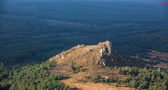 Jura Krakowsko-Czestochowska, Gora Biaklo w okolicy Olsztyna,