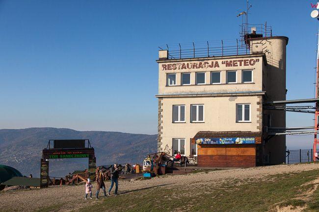 Gora Zar, restauracja Meteo. EU, Pl, Slaskie.