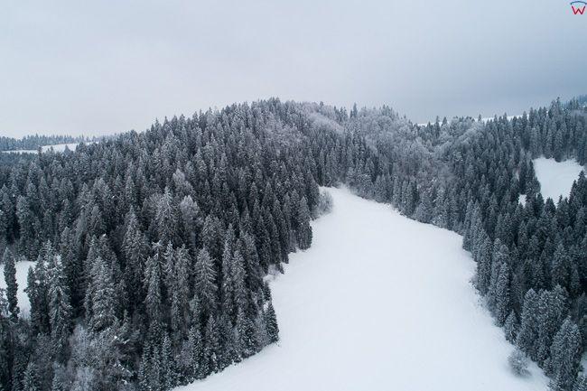 Pieniny Spiskie. EU, PL, malopolskie, Lotnicze