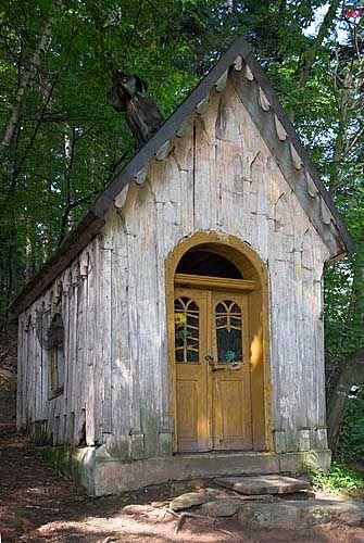 Beskid Sadecki, kapliczka.
