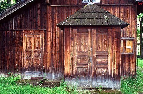 Sromowce Niżne, kościół drewniany