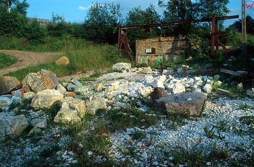 Kamieniołom, góry kaczewskie