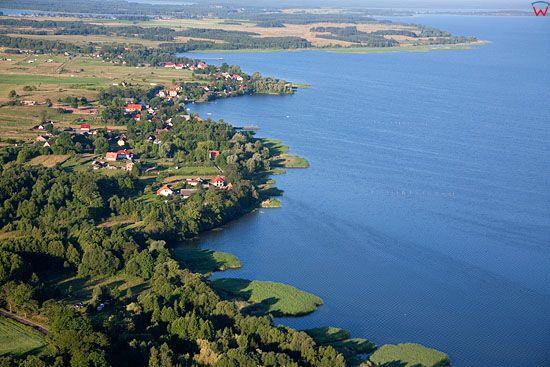 Lotnicze, Pl, warm-maz. Pojezierze Mazurskie jezioro Sniardwy.