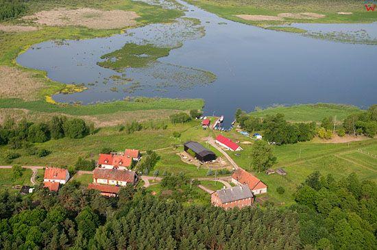 Lotnicze, Pl, warm-maz. Mazurski Park Krajobrazowy. Rezerwat Warnoly.