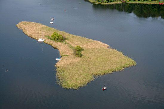 Lotnicze, Pl, warm-maz. Mazurski Park Krajobrazowy. Jezioro Beldany.