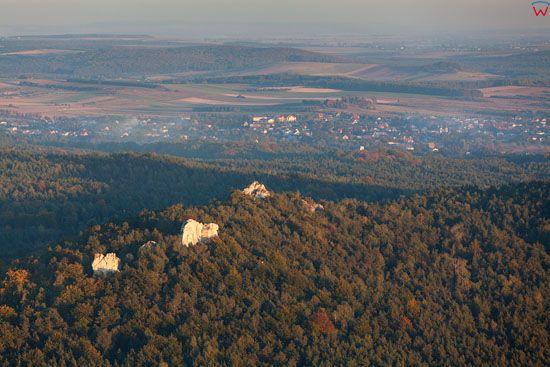Jura Krakowsko - Czestochowska, Rezerwat Gora Zborow, EU, Pl, Slask, LOTNICZE.
