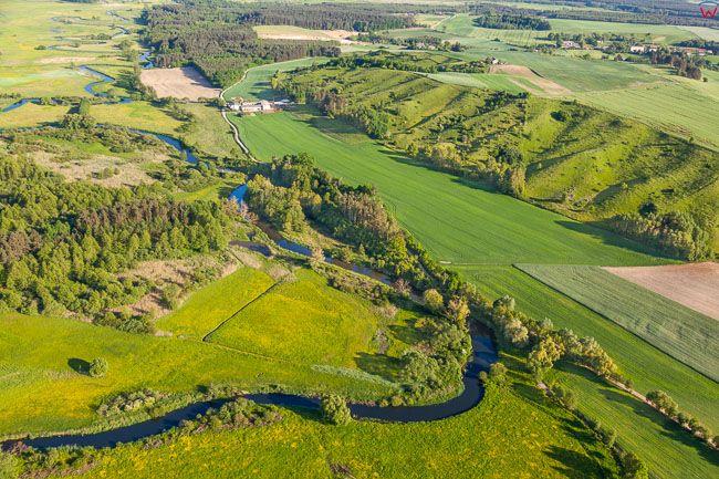 Brodnicki Park Krajobrazowy, i rzeka Drweca, 26.05.2016. EU, PL, Kuj-Pom. Lotnicze.