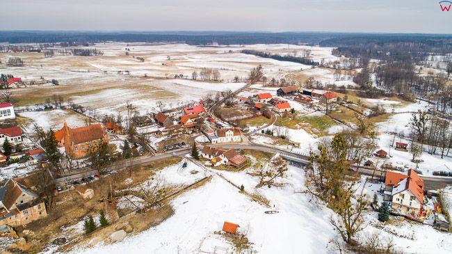 Ukta, Mazurski Park Krajobrazowy.  EU, Pl, warm-maz. Lotnicze.