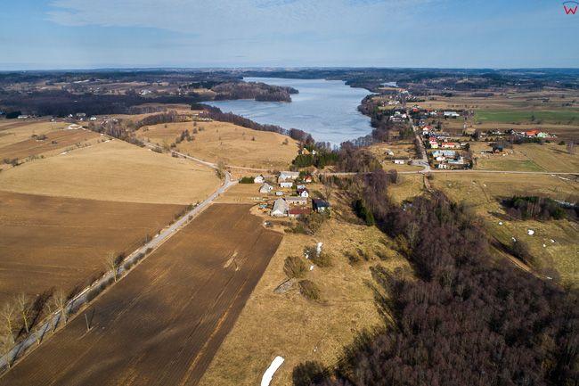 Bachanowo, Suwalski Park Krajobrazowy. EU, Pl, Podlaskie. Lotnicze.