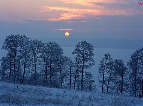 Zima okolica Szczytna