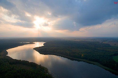 Lotnicze, Polska, warm-maz. Jezioro Drweckie.